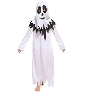Xinxinchaoshi Ropa de la Novedad Fantasma de la Ropa del Masquerade Show COS Traje del Vampiro del Demonio de Halloween de los niños Disfraz de Halloween ( Color : A , Size : L )