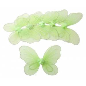 HEART Party Favor Butterfly Wing, Verde