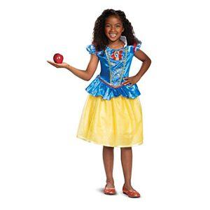 Disguise Disney Princess Snow White Classic Disfraz para niña, color azul