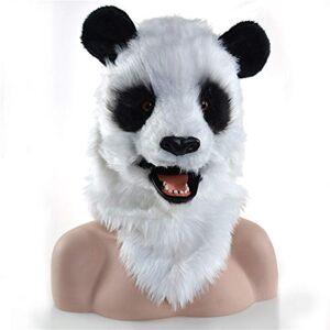 ROYAL STAR TY Sombreros Moviendo Boca Panda Cosplay Headgear Furry Animal Moving Jaw Headgear Handmake Novel Regalo para Carnival Halloween Partyand Pascua Bonitos Regalos Sombreros