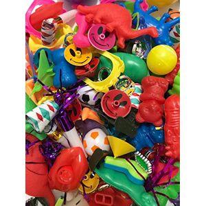 MW Distributors Juguete de fiesta surtido para niños, fiesta de cumpleaños, recompensas de aula escolar, premios de carnaval, relleno de piñata, 150 piezas surtido de juguetes a granel