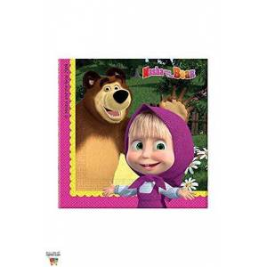 Masha and the Bear Napkins by