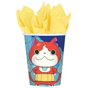 Amscan Yo-Kai WatchTM Vasos, 9 onzas, Recuerdo de Fiesta