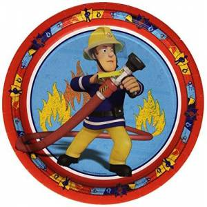 Amscan International 23 Cm Fireman Sam Paper Plates by  International