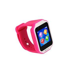 KURIO Reloj Inteligente Glow para niños con Bluetooth, Aplicaciones, cámara y Juegos, Rosa
