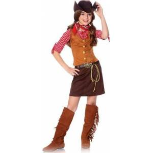 Franco American Novelty Company Gun Slinger Girls Costume Small (4/6)