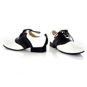 Ellie Shoes Saddle (Black/White) Child Shoes 101SaddleBlk/WhtL by