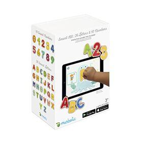 Marbotic SB16 Kit de Juguetes Interactivos para Tablets, Números y Letras Inteligentes, Color Multicolor