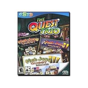 iWin.com iWin 204 The Quest Trio: Mahjong [CD-ROM] Windows XP Home Edition by iWin