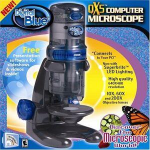 PRiME Digital Blue QX5 Digial Microscope