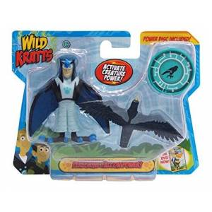 Wild Kratts Toys Juego de 2 cifras de acción de criatura Peregrine Falcon Power