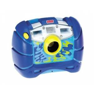 Fisher-Price Kid-Tough Digital Camera Blue