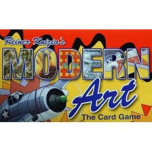 Gryphon Games Modern Art The Card Game by