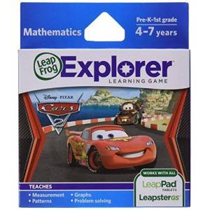 LeapFrog Enterprises LeapFrog Learning Game Disney-Pixar Cars 2 (works with LeapPad Tablets, Leapster GS and Leapster Explorer)