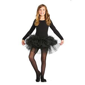 Forum Novelties Kids Fluffy Tutu Costume, Black, One Size