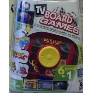 Mammoth Toys Tv Board Games 6 Games in 1 Simon, Battleship and More!
