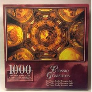 Classic Treasures 1000-Piece Large Jigsaw Puzzle San Vitale, Emilia Romagna, Italy by