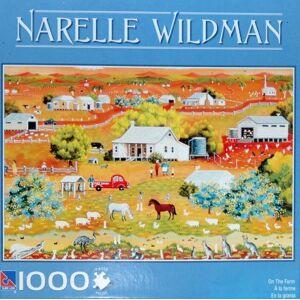 Sure-Lox Narelle Wildman 1000-Piece Puzzle-en la Granja