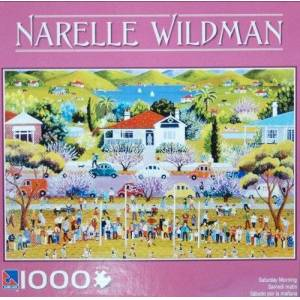 Sure-Lox Narelle Wildman 1000-Piece Jigsaw Puzzle Saturday Morning