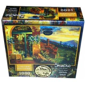 Mega Brands Limited Edition Viktor Shvaiko 1000-Piece Jigsaw Puzzle Sunset Blaze by