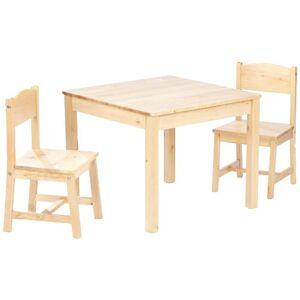 KidKraft Aspen juego de mesa y silla-Natural