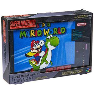 Paladone Lampara SNES Super Mario World Luminart Wall Art Original