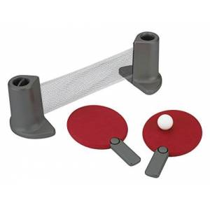 Umbra Set Table Tennis Pongo, Red/Charcoal