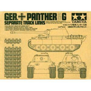 Tamiya Models Panther Track Links Kit de Modelo Tipo G