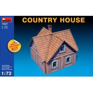 Miniart Kids Hobby Military Toy Country House Scale: 1/72