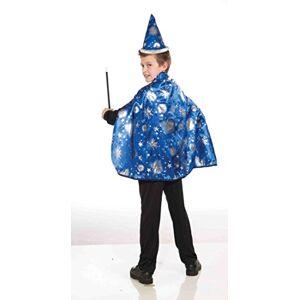 Forum Novelties Lil Wizard Disfraz Infantil de Capa y Sombrero (Talla Mediana), como se Muestra, Mediano