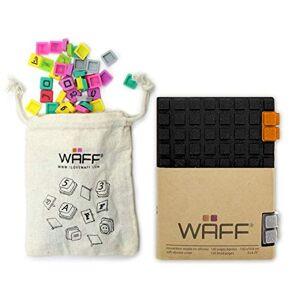WAFF Combo Mini (+100 Cubini), Glitter Black