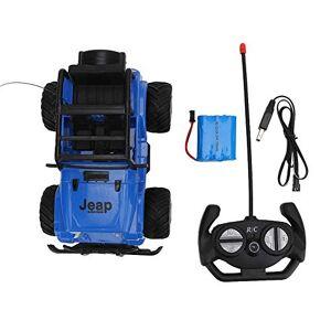VGEBY1 Coche de Control Remoto, opción de Dos Colores Vehículo de Juguete de Control Remoto con tracción en Las Cuatro Ruedas RC Todo Terreno para niños Modelo de Juguete(Azul)
