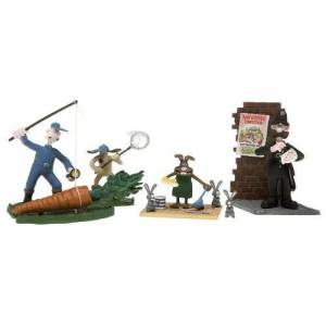 None Wallace and Gromit the Curse of the Were-Rabbit: the Carrot Collector Set