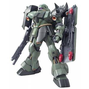 BANDAI SPIRITS MG Mobile Suit Gundam Char's Counter Attack AMS-119 Gila-Doga 1/100 Scale Color-Coded pre-Plastic Model