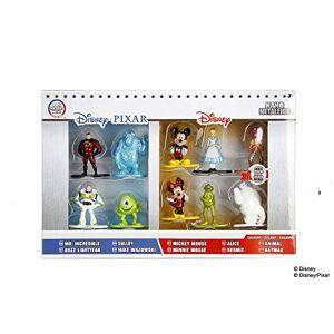 Jada Toys Metals Action Figure Disney Metalfigs, 10 Pack