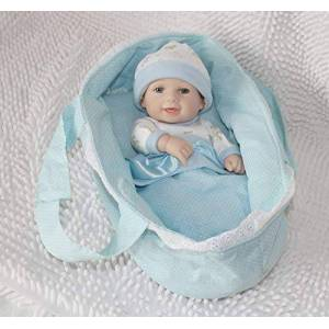 """TERABITHIA Mini 11 """"Adorable Realista Dormir Reborn bebé muñecas Kits Waterproof Boys"""