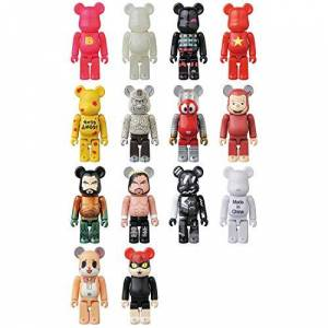Medicom Toy Bare Brick Series 37 Each Height Approx 70mm Painted Figure Box