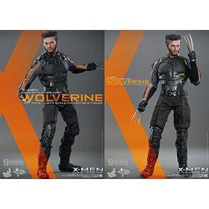 "Hot Toys X-Men Days of Future Past Wolverine Hugh Jackman 1/6 Scale 12"" Figure"