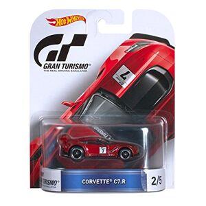 Hot Wheels Retro Entretenimiento Tourismo Corvette c7-r (Maroon) Die-Cast Vehicle 2/5
