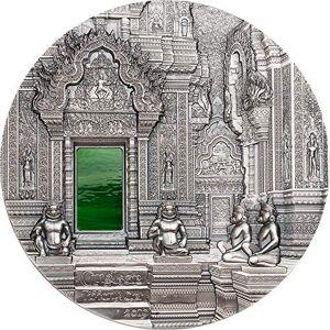 Power Coin Tiffany Art Angkor 1 Kg Kilo Moneda Plata 50$ Palau 2019