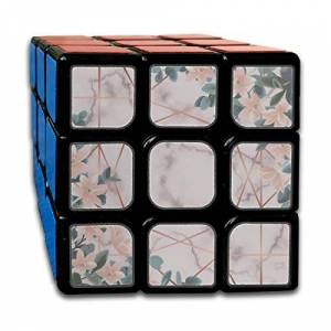 engree Custom 3x3 Magic Cube 3x3 Best Brain Training Toys 3x3x3 Morden Fashion Beautiful Painting Puzzle Cubes Party Game para niños niñas niños pequeños-55mm