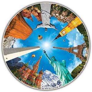 A Broader View , Rompecabezas Round Table, Legendary Landmarks, 700 Piezas