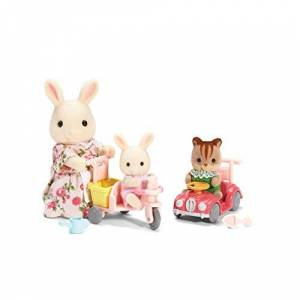 Calico Critters Apple and Jake's Ride n Play