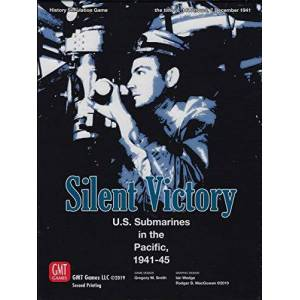 GMT Games Silent Victory U.S. Submarines in the Pacific, 1941-45 Board Game English by