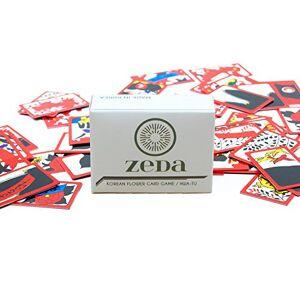 ZEDA International Korean Flower Card Game / Hwatu / Go-Stop / Godori