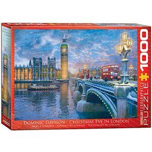 EuroGraphics Puzzle de 1000 Piezas, diseño de víspera de Navidad en Londres