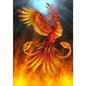 JSSMSDYK Puzzle 1000 Piezas Phoenix Rompecabezas para Adultos Kit De Bricolaje Rompecabezas Decoración Moderna para El Hogar Regalo nico