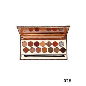 Zaful Paleta 14 Colores Sombra de Ojos