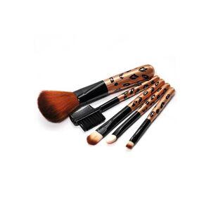 Zaful 5Pcs Polvo de cepillo del maquillaje
