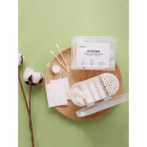 Zaful Esponja de algodón de descarga de maquillaje Set de Viaje de algodón